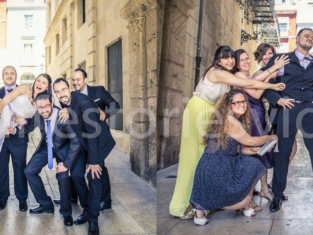 La boda de Jose y Verónica en Alacant/alicante, Alicante 10