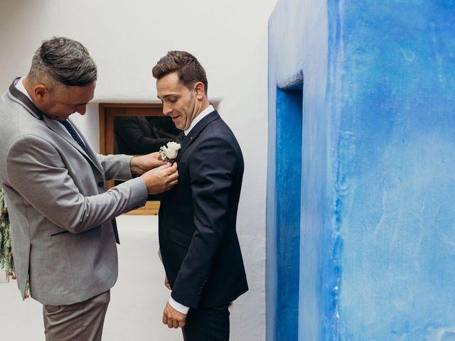 La boda de Dani y Andrada en Santa Eularia Des Riu, Islas Baleares 11