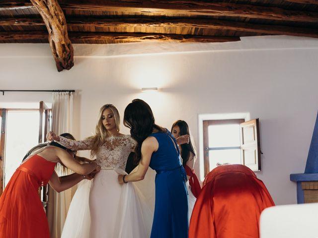 La boda de Dani y Andrada en Santa Eularia Des Riu, Islas Baleares 14