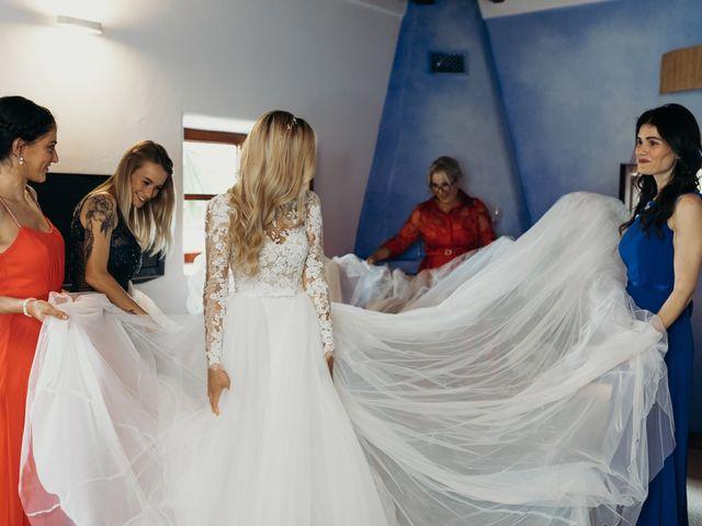 La boda de Dani y Andrada en Santa Eularia Des Riu, Islas Baleares 15