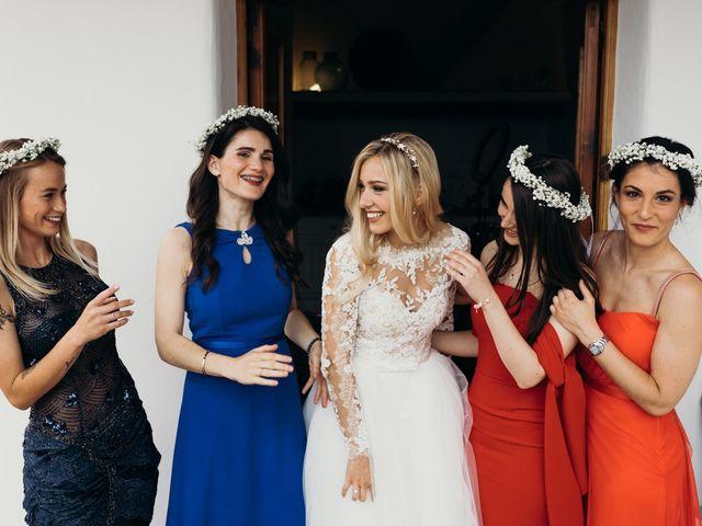 La boda de Dani y Andrada en Santa Eularia Des Riu, Islas Baleares 19