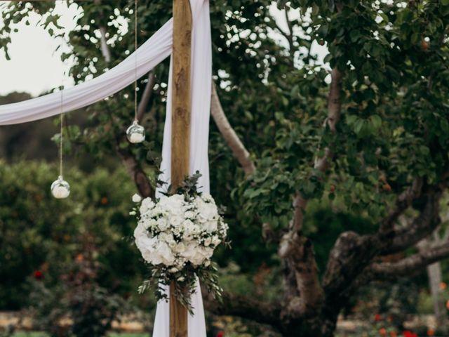 La boda de Dani y Andrada en Santa Eularia Des Riu, Islas Baleares 22