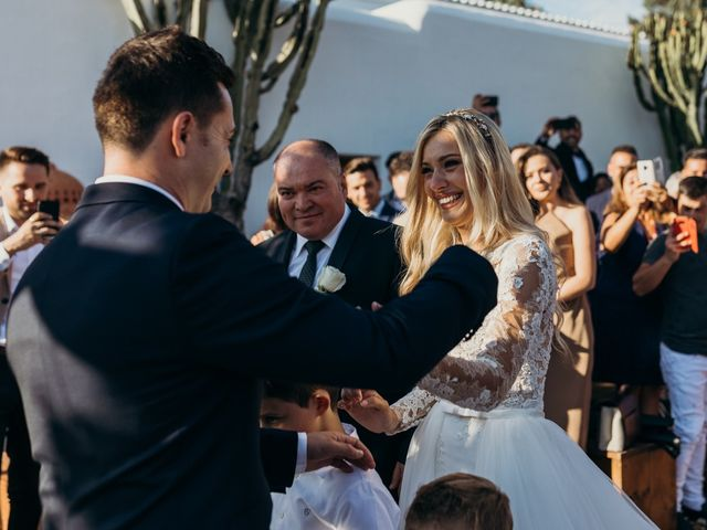 La boda de Dani y Andrada en Santa Eularia Des Riu, Islas Baleares 30