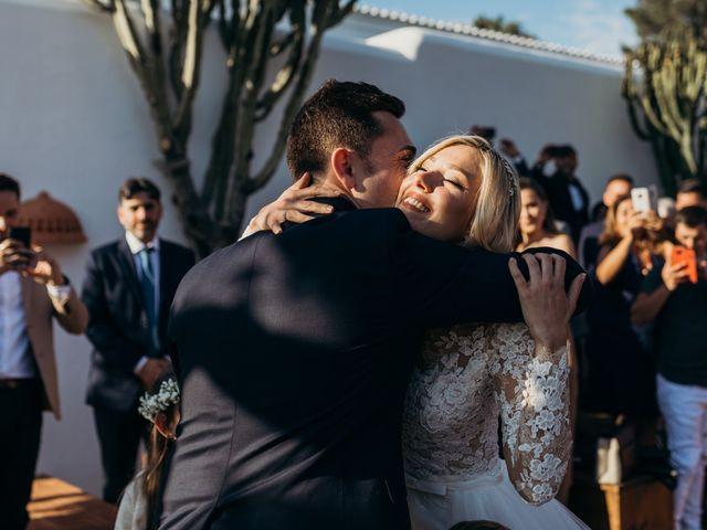 La boda de Dani y Andrada en Santa Eularia Des Riu, Islas Baleares 31