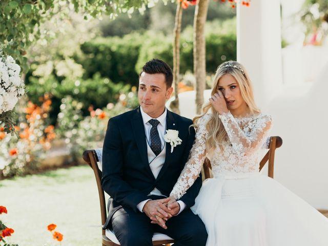 La boda de Dani y Andrada en Santa Eularia Des Riu, Islas Baleares 32