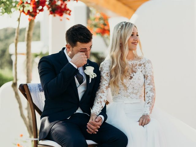 La boda de Dani y Andrada en Santa Eularia Des Riu, Islas Baleares 33