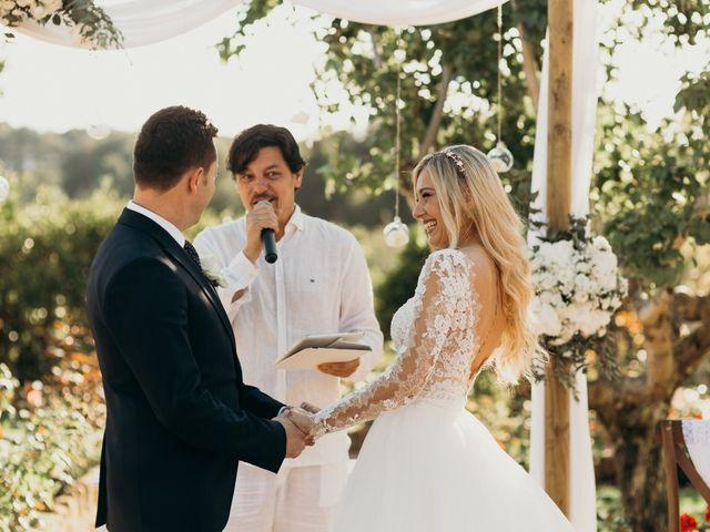 La boda de Dani y Andrada en Santa Eularia Des Riu, Islas Baleares 37