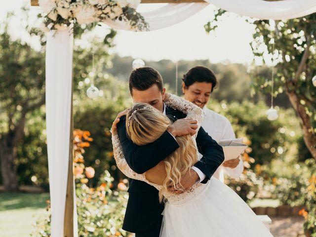La boda de Dani y Andrada en Santa Eularia Des Riu, Islas Baleares 39