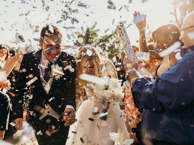 La boda de Dani y Andrada en Santa Eularia Des Riu, Islas Baleares 41