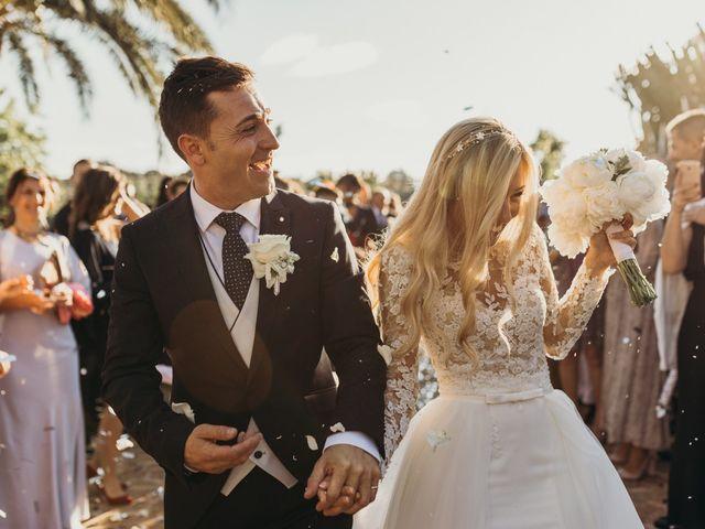 La boda de Dani y Andrada en Santa Eularia Des Riu, Islas Baleares 42