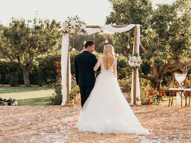 La boda de Dani y Andrada en Santa Eularia Des Riu, Islas Baleares 44