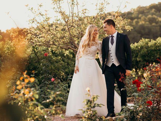La boda de Dani y Andrada en Santa Eularia Des Riu, Islas Baleares 50
