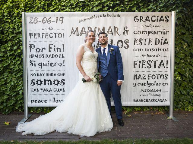 La boda de Carlos y María del Mar en El Molar, Madrid 2