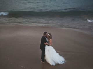 La boda de Olaia y Iker