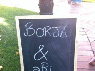 La boda de Ari y Borja 1