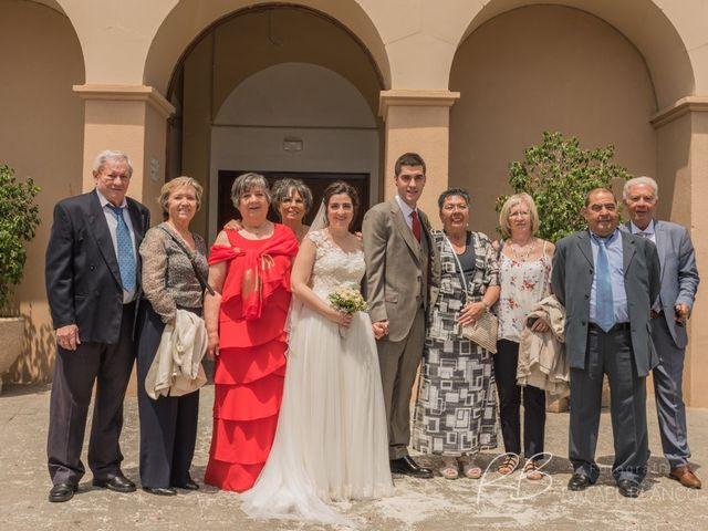 La boda de Estefania  y Iván  en Sant Fost De Campsentelles, Barcelona 45