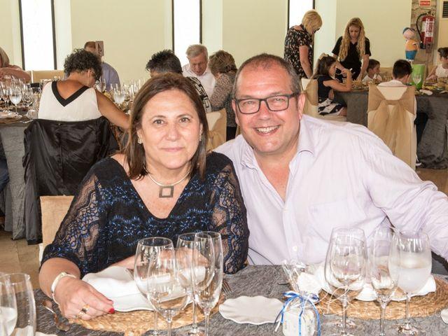 La boda de Estefania  y Iván  en Sant Fost De Campsentelles, Barcelona 55