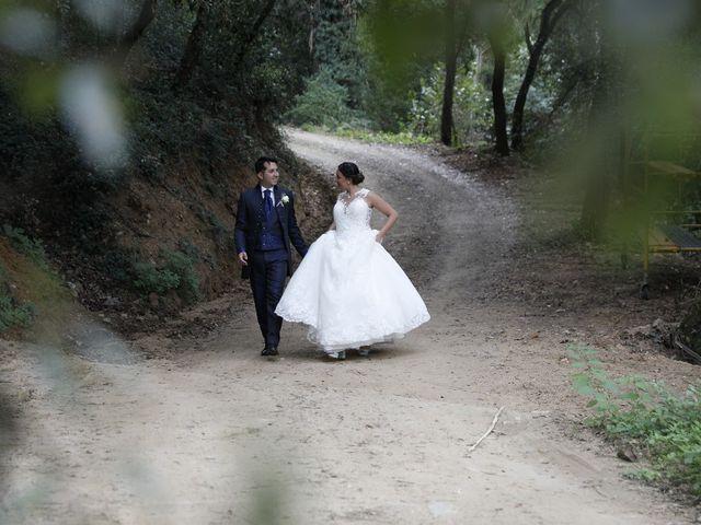 La boda de Jonatan y Nerea en Gualba, Barcelona 2