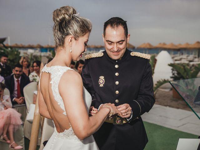 La boda de Claudia y Santiago en Torremolinos, Málaga 2