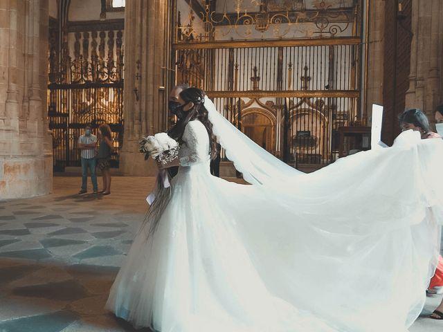 La boda de Alberto y Jesica en Salamanca, Salamanca 6