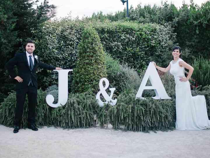 La boda de Anna Mascarós y Jorge
