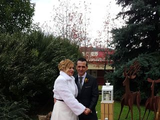 La boda de Iratxe y David