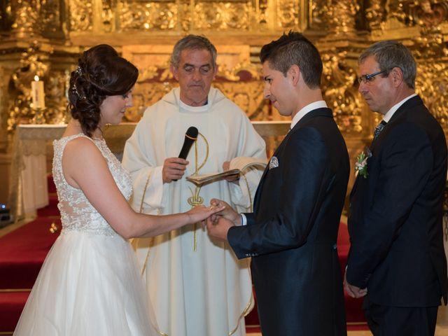 La boda de Alfonso y Mihaela en Simancas, Valladolid 14