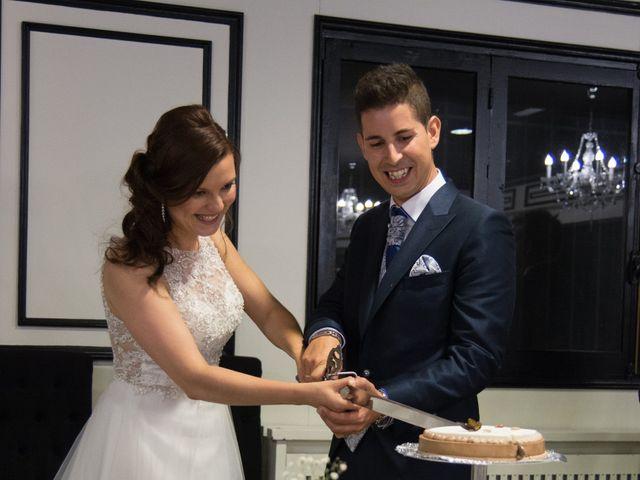 La boda de Alfonso y Mihaela en Simancas, Valladolid 34