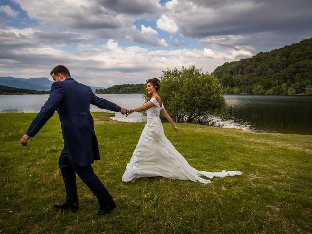 La boda de Javier  y Estela en Guadarrama, Madrid 2