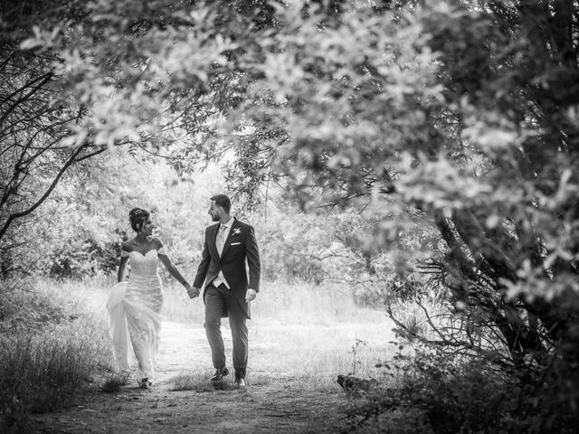 La boda de Javier  y Estela en Guadarrama, Madrid 21
