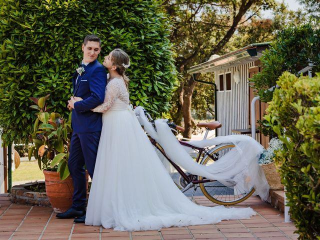 La boda de Alba y Adrián