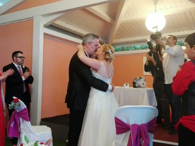 La boda de Xavi  y Inma en Montbrio Del Camp, Tarragona 1