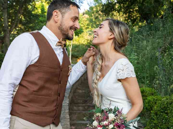 La boda de Rocío y Rubén