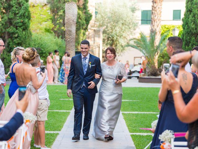 La boda de David y Estefanía en Son Servera, Islas Baleares 6