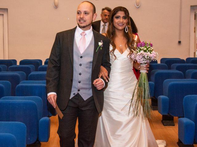 La boda de Rubén y Angella en Madrid, Madrid 17