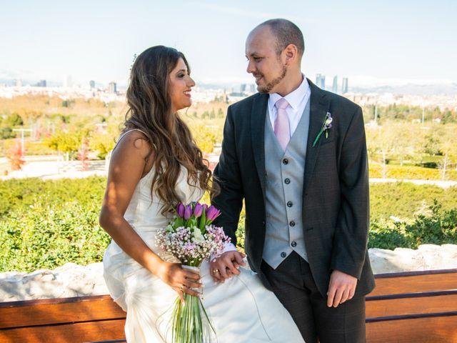 La boda de Rubén y Angella en Madrid, Madrid 25