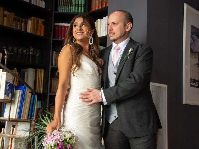 La boda de Rubén y Angella en Madrid, Madrid 32