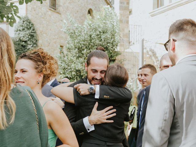 La boda de Aitor y Coral en Fares, Girona 43