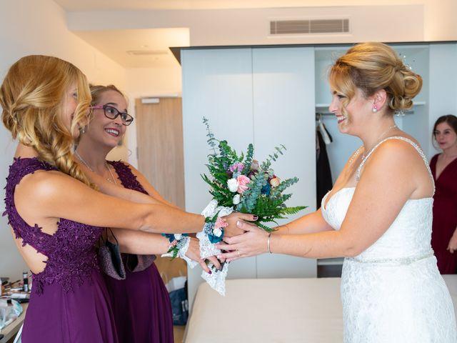 La boda de Marc y Noelia en L' Ametlla De Mar, Tarragona 1