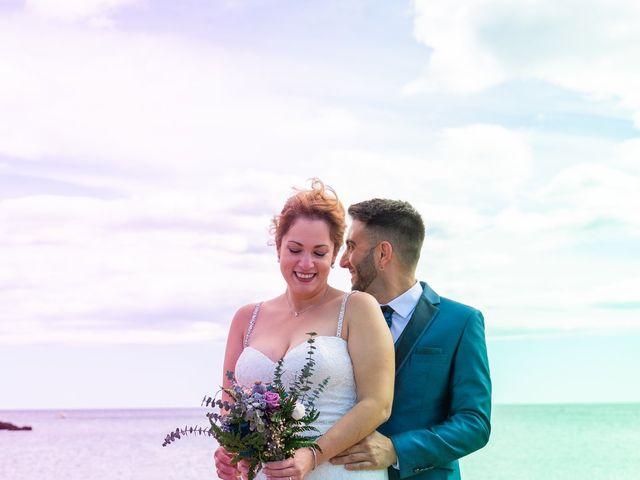 La boda de Marc y Noelia en L' Ametlla De Mar, Tarragona 19