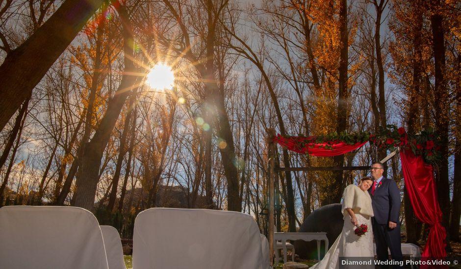 La boda de Juanma y Rosa en Saelices, Cuenca