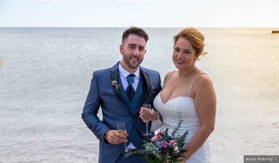 La boda de Marc y Noelia en L' Ametlla De Mar, Tarragona