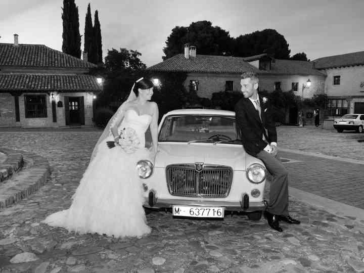 La boda de Carmen y Chema