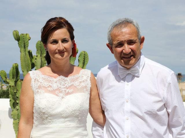 La boda de Oscar y Mar en Zahara De Los Atunes, Cádiz 4