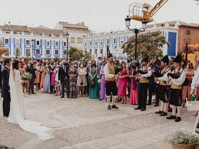 La boda de Rafael y Estibaliz en Pozuelo De Calatrava, Ciudad Real 81