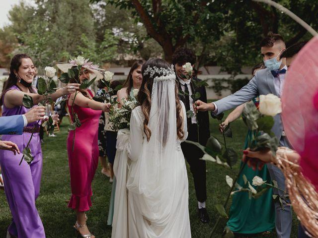 La boda de Rafael y Estibaliz en Pozuelo De Calatrava, Ciudad Real 121