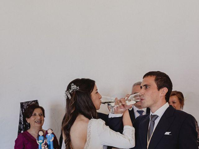 La boda de Rafael y Estibaliz en Pozuelo De Calatrava, Ciudad Real 131