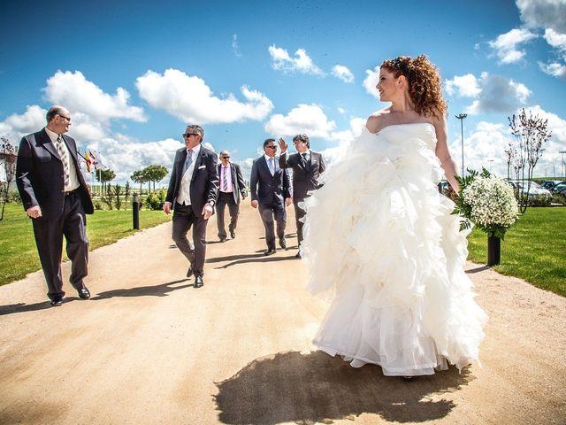 La boda de Julio y Natalia en Codorniz, Segovia 14