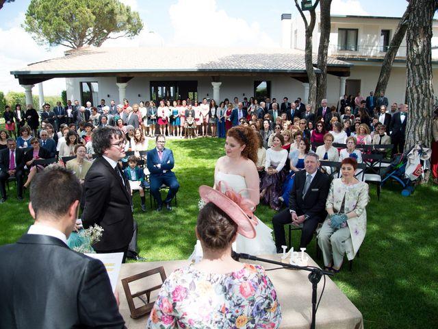La boda de Julio y Natalia en Codorniz, Segovia 24