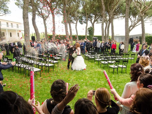 La boda de Julio y Natalia en Codorniz, Segovia 26
